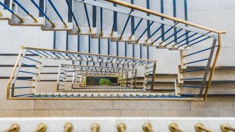 Westseit 5 Essen - Ansicht Treppenhaus Nr. 8