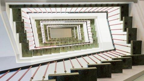 Westseit 5 Essen - Ansicht Treppenhaus Nr. 5